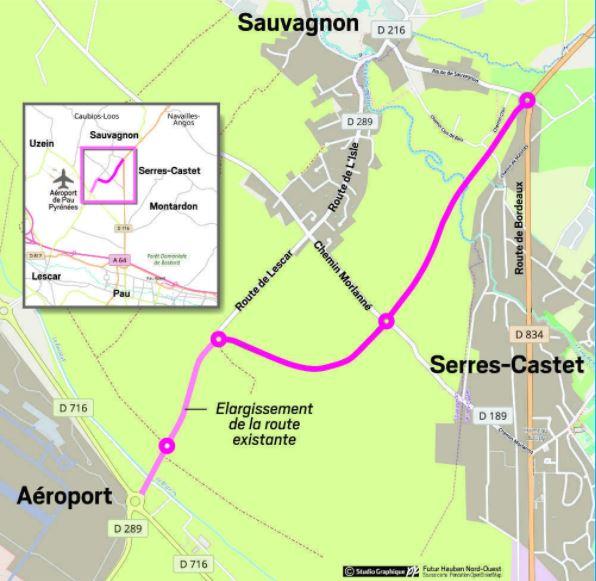 Désengorgement de la route de Bordeaux