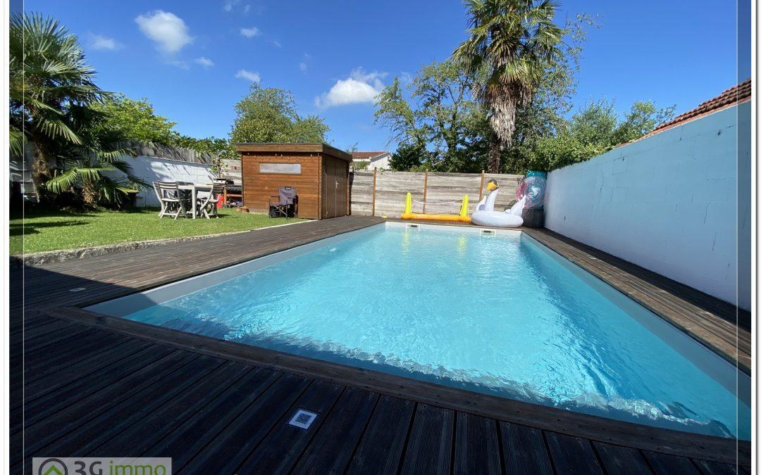 Arzacq, Maison de caractère 4 ch + piscine