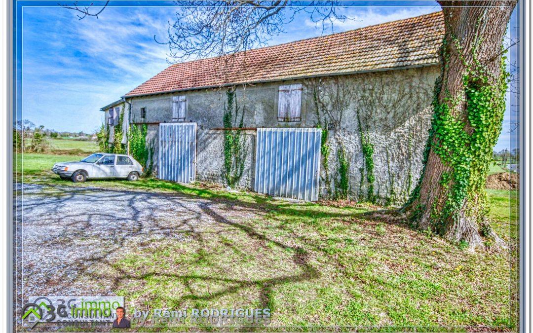 Arzacq, Grange d'environ 400m² + Apt de 47m²
